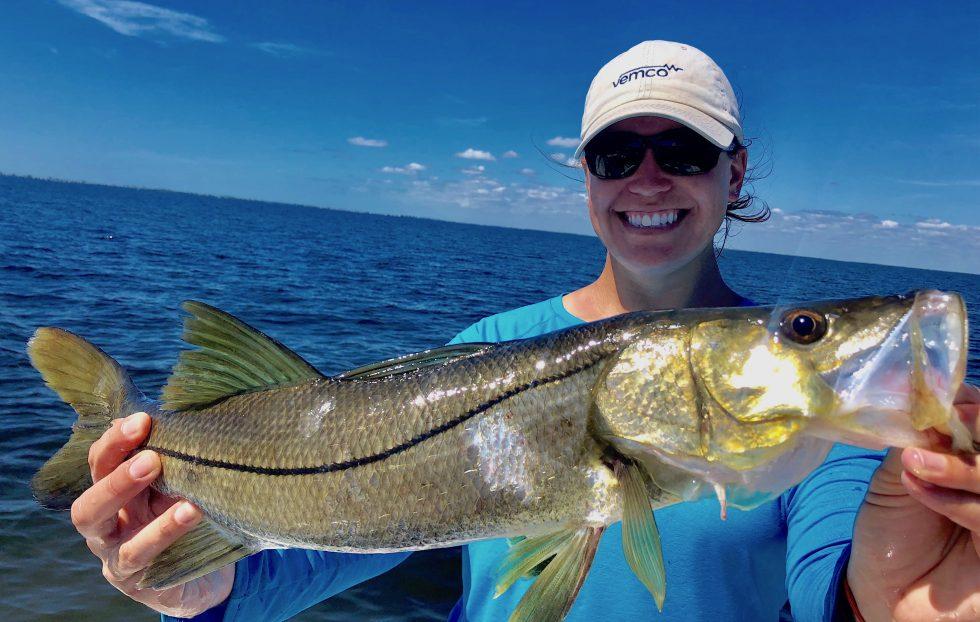 Snook, Sanibel Island Fishing, Catch & Release, Captiva Island, Saturday, October 5, 2019.