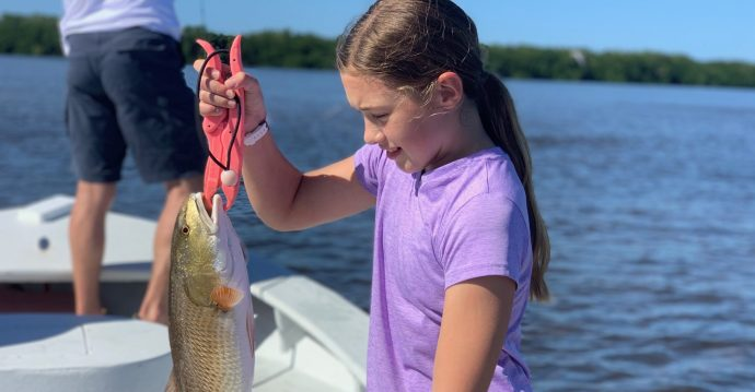Redfish, Sanibel Island Fishing, Catch & Release, Captiva Island, Thursday, November 26, 2020.