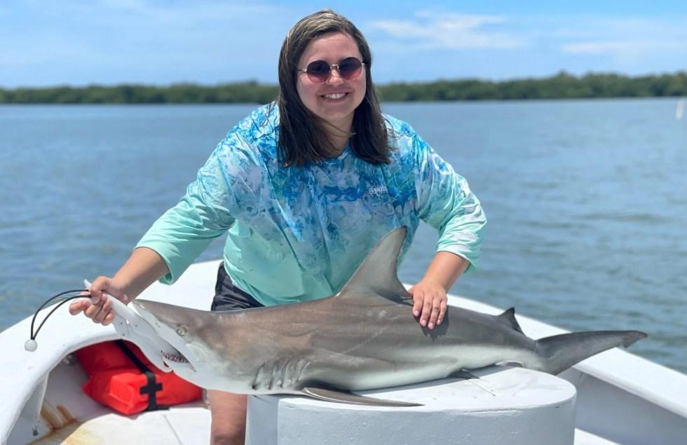 Blacktip Shark, Sanibel Island Fishing, Catch & Release, Captiva Island, Friday, June 25, 2021.