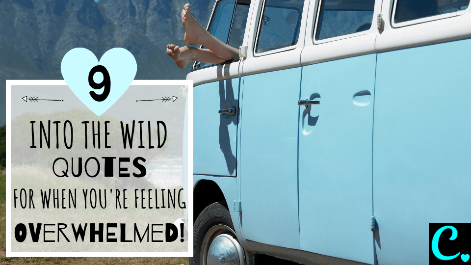 9 Best Into The Wild Quotes For When You're Feeling Overwhelmed   You can do it quotes   Quotes To Inspire   Motivational Quotes   Movie Quotes   Christopher McCandless Via https://captivatingcrazy.com #moviequotes #intothewildquotes #motivationalquotes #inspirationalquotes