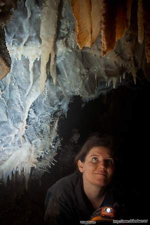 Leigh in the Cave
