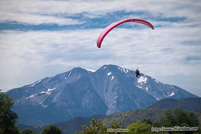 Paragliding, Glenwood springs, Colorado