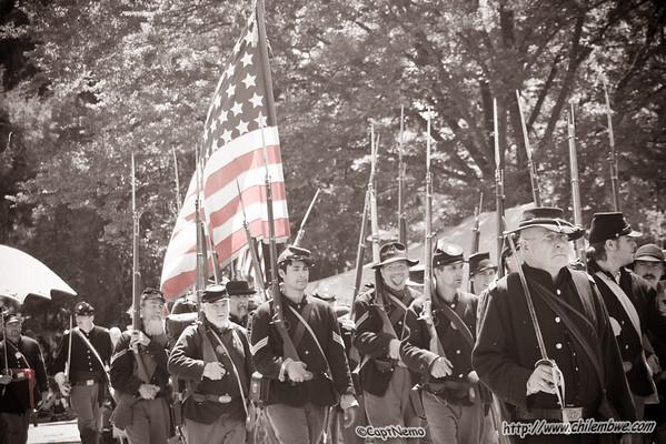 Civil War at Gibson Ranch