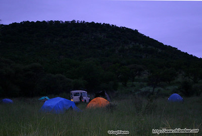 Camp at the Lobatse Estate