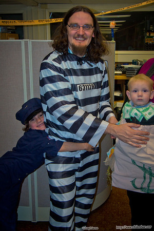 James,Michael and mathew ready for trick or treating
