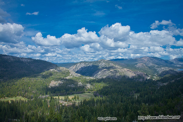 View from Emigrant Gap