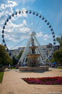 Giant ferris wheel, Budapest