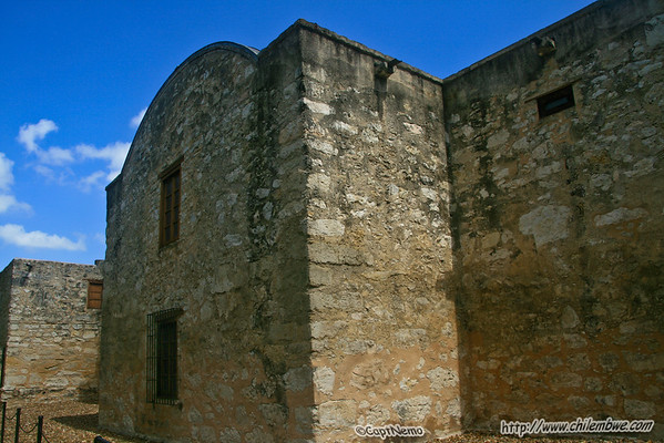 Touring the Alamo