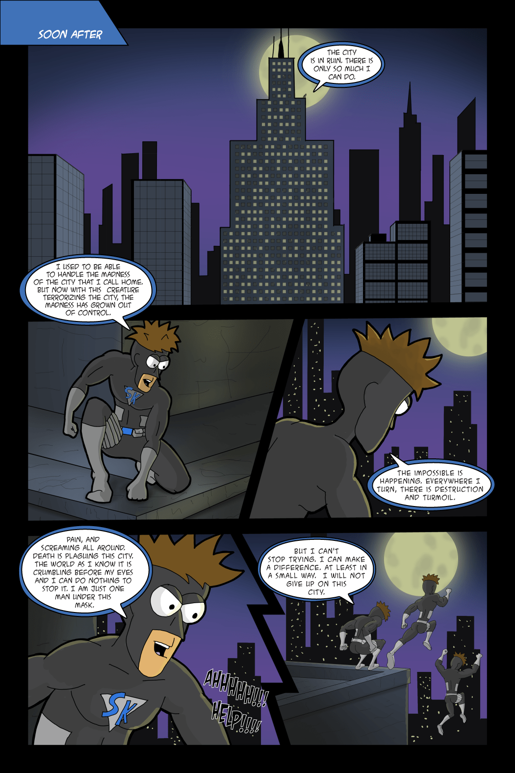 Adventures with Capt'n Heroic: In the Beginning – Page 8