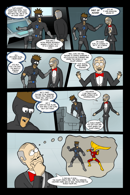 Adventures with Capt'n Heroic: In the Beginning – Page 16