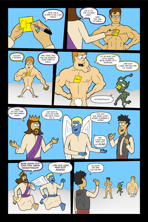 Adventures with Capt'n Heroic: In the Beginning- Page 33