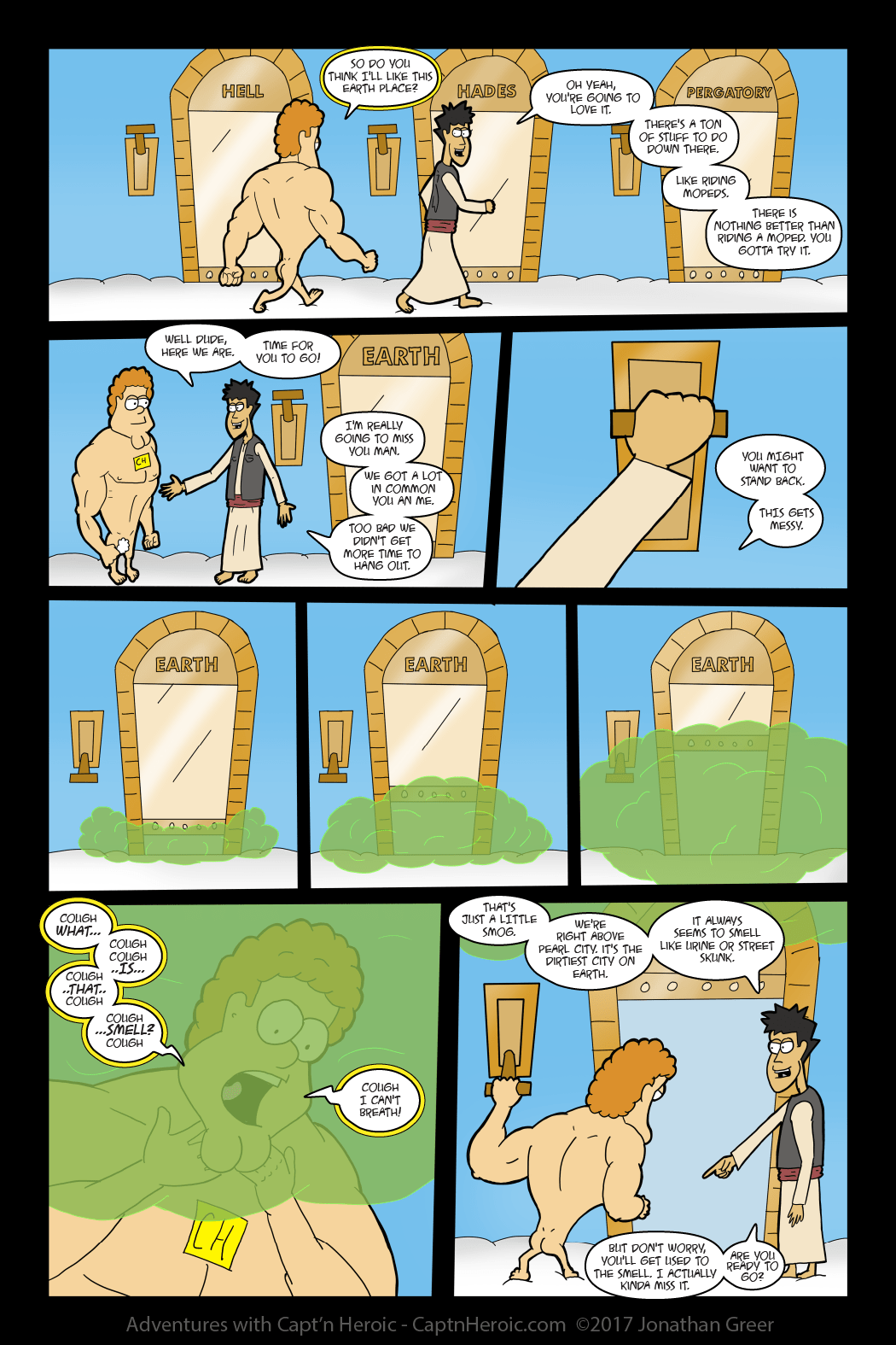 Adventures with Capt'n Heroic: In the Beginning- Page 41