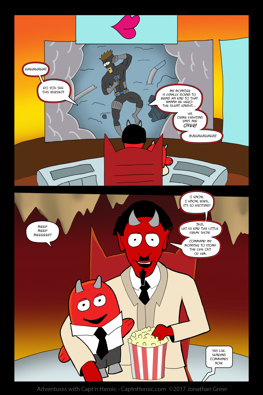 Adventures with Capt'n Heroic: In the Beginning- Page 55