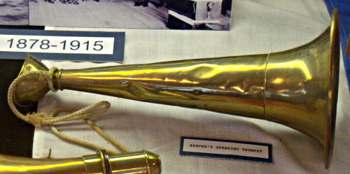 Keepers Speaking Trumpet - US Coast Guard Museum - Seattle