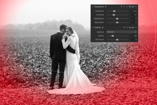 Capture One 12 - Radial Gradient Mask