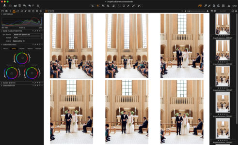 Images after applying Color Balance
