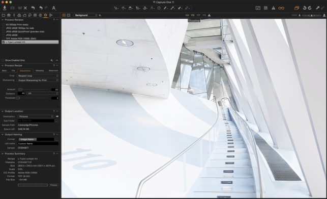 Capture One Output Proofing