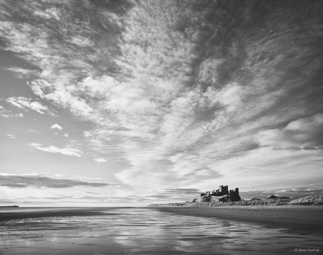 Good Morning Clouds Bamburgh, Steve Gosling with the IQ3 100MP Achromatic