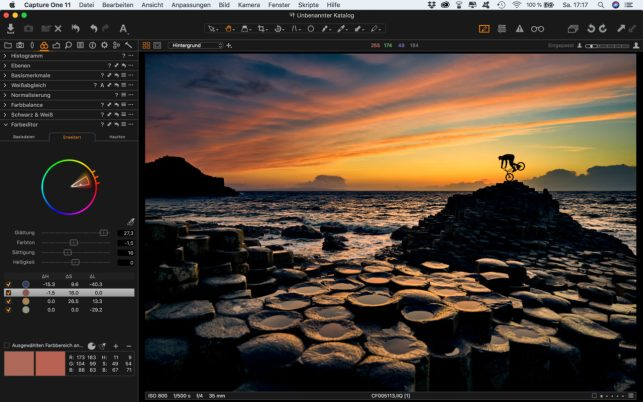 Lorenz Holder Capture One Color Editor