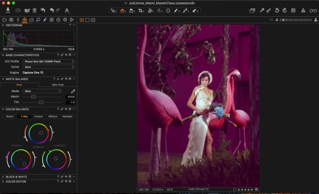 3. Create a dreamy and surreal color tone with Color Balance