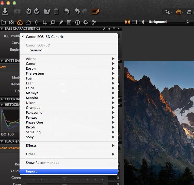 Capture One Blog » Blog Archive Move your custom-made ICC profiles