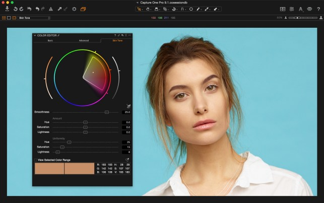 New Uniformity Controls in Capture One Pro 9.1