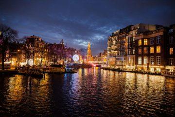 Capture Amsterdam light festival