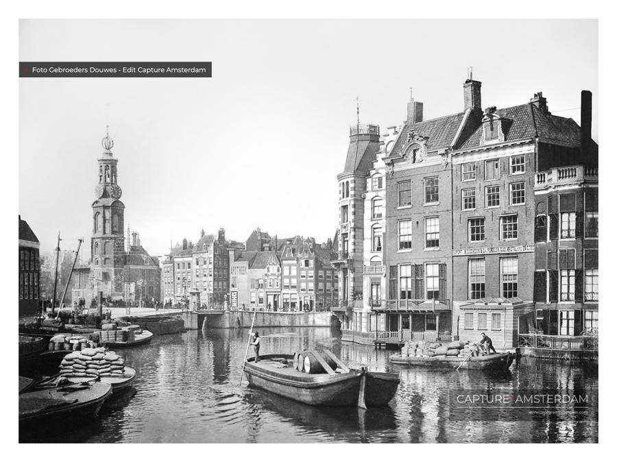 Capture Amsterdam - Gebroeders Douwes - Léurope - Amsterdam rond 1900 - Stadsarchief Amsterdam