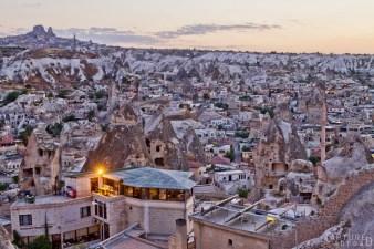 Cappadocia in the dusk