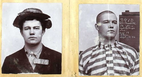 William Parkhill, Folsom Prison photographs. California, Prison and Correctional Records, 1851-1950.