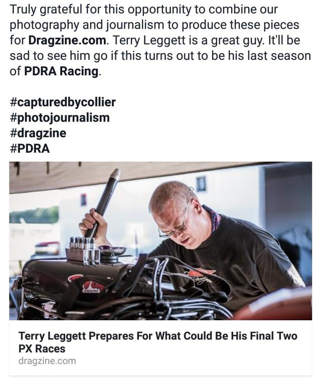 Terry Leggett Post