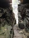 Looking down the Stone Door