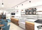 First design concepts for a Metrocentre Café