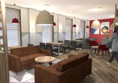 Coffee Shop Design for new Durham Business