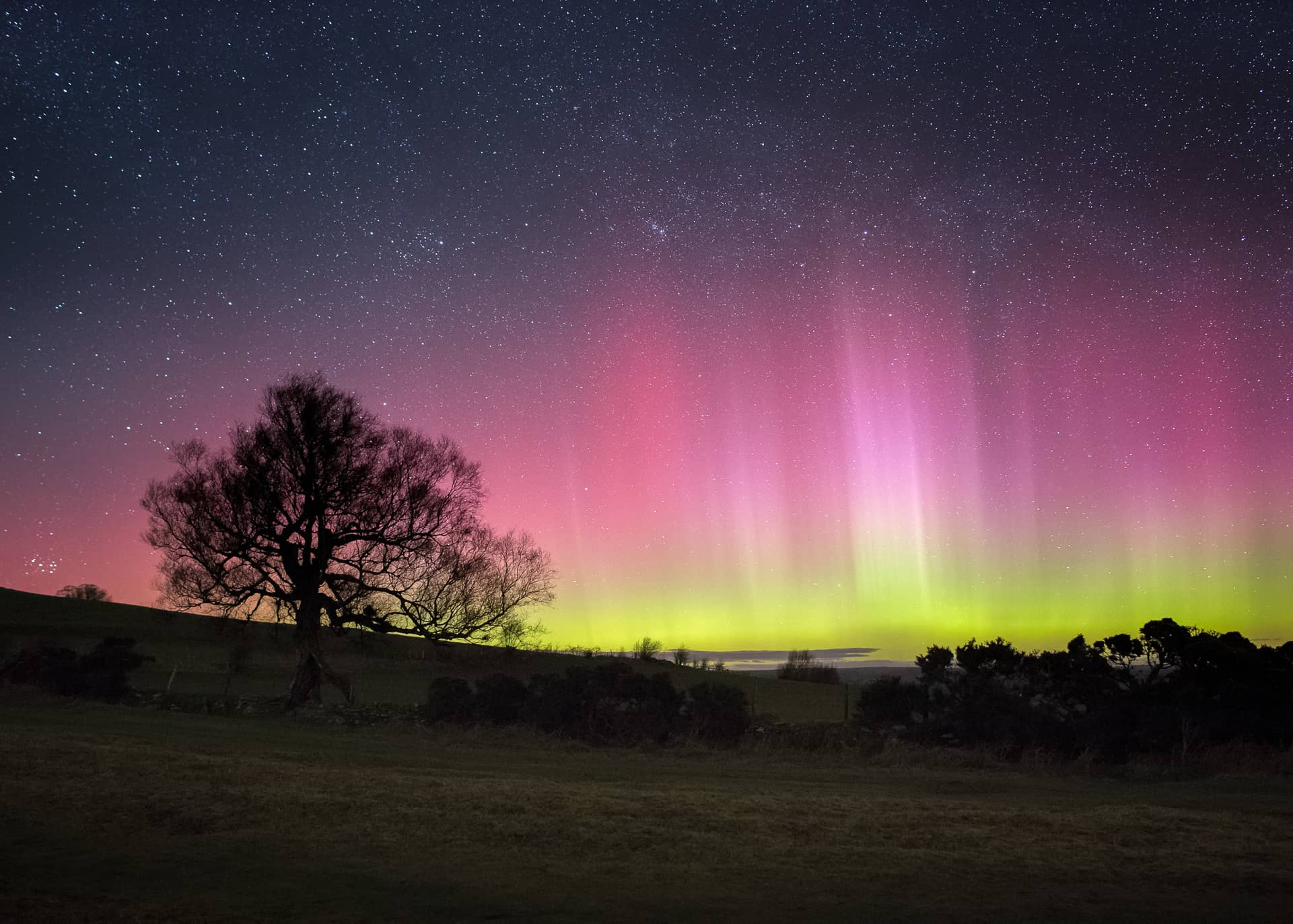 Best Time See Northern Lights Wales