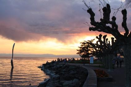 Vevey Sunset