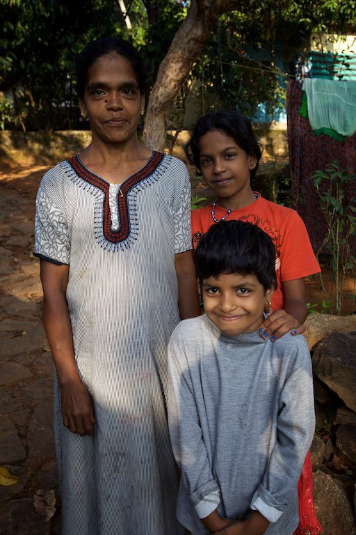 The people of Pathandu, India