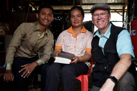Pastor Koemsieng Pov introduced me to Sina whose story of surviving the Khmer Rouge regime, despite loosing six siblings and her father. I will never forget her story or our shared tears.