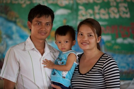House parents Kim and Sambor Houn with son Sermon, whose story I look forward to telling, are part of the body of Christ at New Hope For Orphans near Poipet, Cambodia