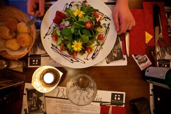 Memorable meal in Lucerne, Switzerland