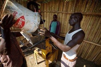 Brick making machine 1