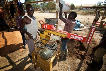 Brick making machine 3