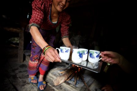 Faces of the Nepalese 15