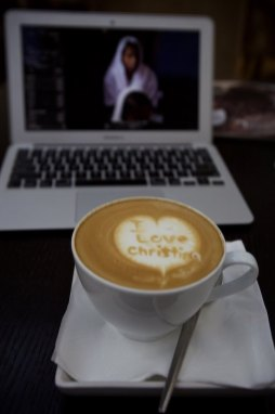 Lots of love for this Barista in Dubai