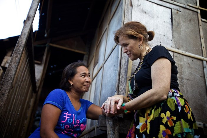 Feeling the love and presence of God in the Philippines on Bohol Island. Amazing moment — with Jodi Jackson Tucker.