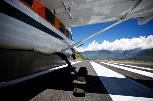 Flying out of the Himalaya's on a much to short runway... Jumla, Nepal