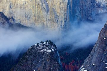 Yosemite during the winter, an unforgettable hike in the snow with Marcus Bowen