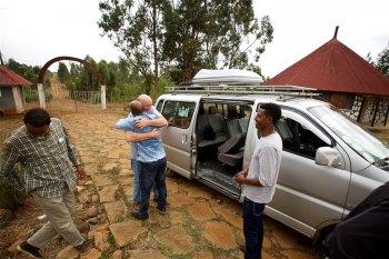 Kidmia Orphanage arrival