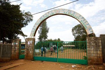 High school where girls dorm was built
