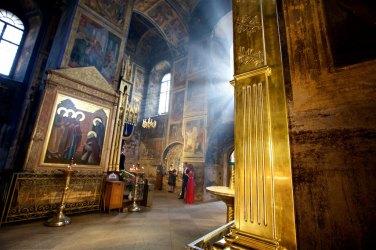 Memorable moment Tikhvin Assumption Monastery in Russia - the story at https://wp.me/p2kaMa-3b2